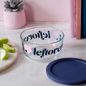 CorelleLeftovers 4-cup Glass Food Storage Container(Lid Sold Separately)