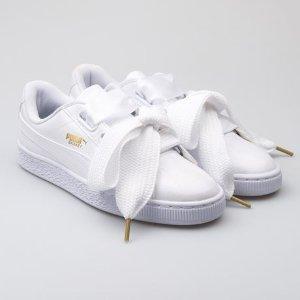 PumaBasket Heart Patent Women's Sneakers
