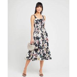FEW MODABlack Floral Dress