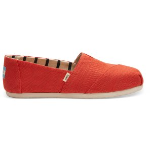 TomsCherry Tomato Heritage Canvas Women's Classics Venice Collection