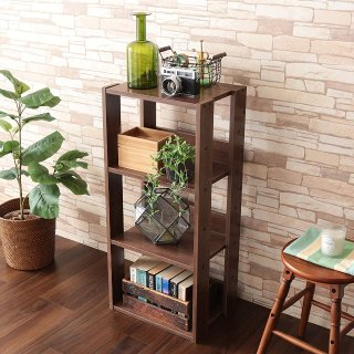 $25.19IRIS USA 3-Tier Open Wood Bookshelf, Dark Brown