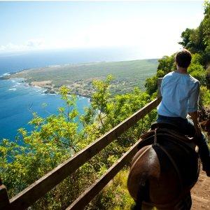 风景秀丽 好莱坞御用拍摄地夏威夷古兰尼战场