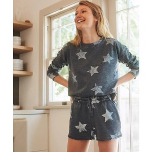 Star Spangled Active Pullover