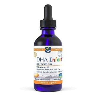 $13.56+包邮Nordic Naturals 婴儿液体鱼肝油,含EPA+DHA +维生素 D3,2盎司