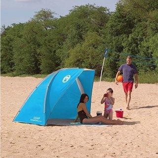 $35.00(原价$59.99)+包邮Coleman 海滨沙滩遮阳帐篷 多色可选