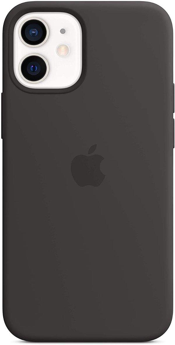 iPhone 12 mini 液态硅胶手机壳 黑色