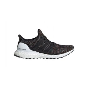 AdidasMen's Adidas UltraBOOST 4.0 Running Shoe - Color: Core Black/Active Red (Regular Width) - Size: 8