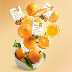 8折 运动补充莓子果饮$7.99Ener-C 维C营养补充  预防感冒 提升元气 多口味果饮$15.99