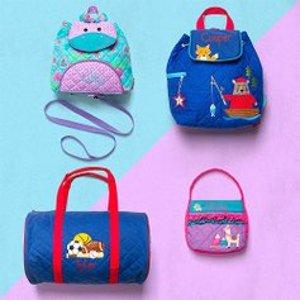 低至6.5折 可个性设计添加姓名Stephen Joseph 儿童背包、午餐包等产品特卖