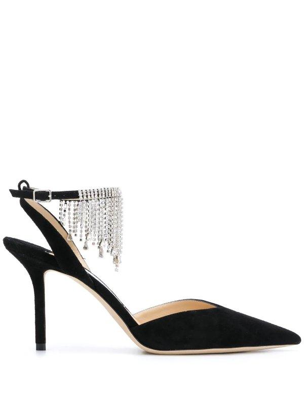 Birtie 85mm 钻饰高跟鞋