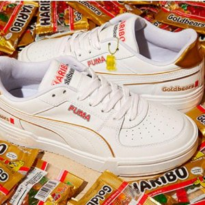 定价£30起+免邮Puma X Haribo 联名运动鞋、短袖 英国国民软糖的甜蜜合作