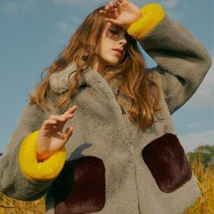 低至3折+额外8折+免邮独家:W Concept 秋冬大衣外套私卖开启 捡漏好时机