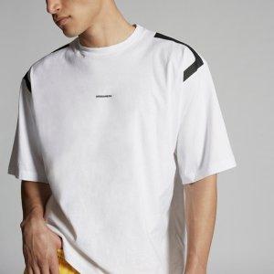 DSquared2码全~白色mini logoT恤