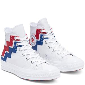 Chuck 70 定价£90上新:Converse VLTG  彩色版发售 经典红白蓝球鞋再现