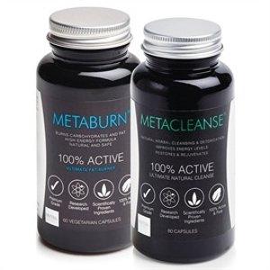 Metaburn燃脂片+排毒片套装