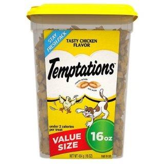 全场买2送1Temptations 猫咪小零食促销