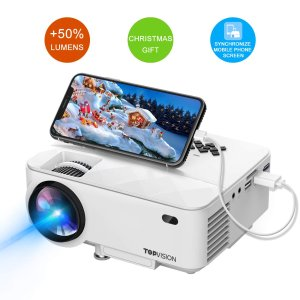 T TOPVISION 2400Lux Projector with Synchronize Smart Phone Screen