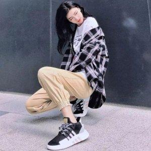 秒变腿精 Adidas EQT Support ADV 运动鞋2.3折起