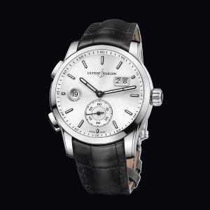 Extra $1000 OffULYSSE NARDIN GMT Dual Time Automatic Men's Watch