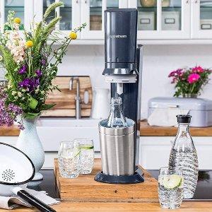 低至€62 夏天冰气泡水无限畅饮SodaStream 气泡水制作套装特卖 各种口味汽水自己做
