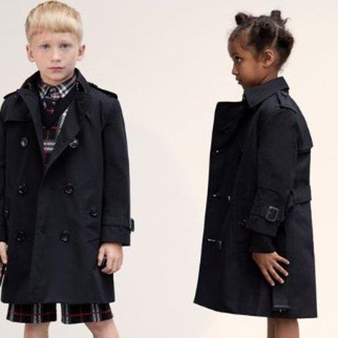6折 圆领卫衣$132Burberry 儿童秋冬服饰特卖 格子大衣、经典风衣、衬衫都参加