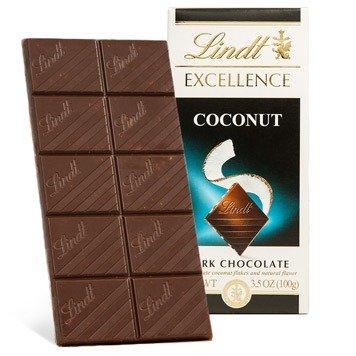 椰子黑巧克力卓越棒 3.5oz