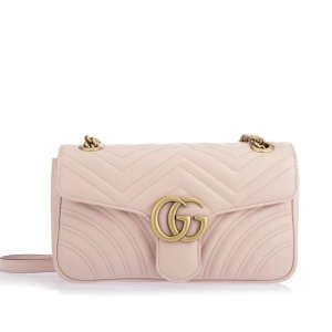 GucciGG Marmont Matelasse Shoulder Bag