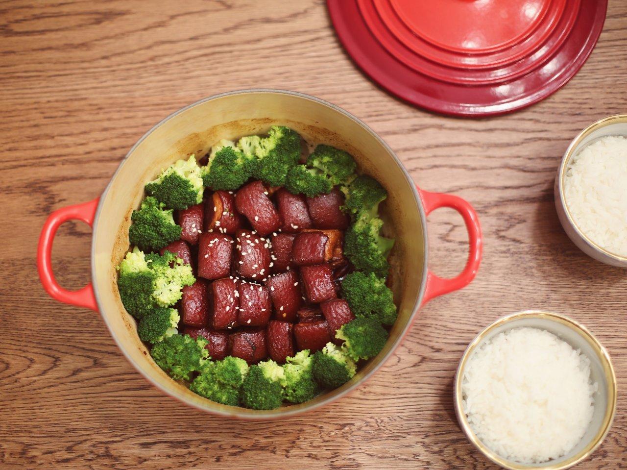 Le Creuset铸铁锅硬菜全指南 (东坡肉+咖喱虾+黄焖鸡+炖牛腩+参鸡汤)