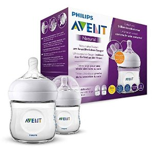 Philips AventPhilips Avent Natural Flasche SCF030/27, 125ml 奶瓶2支