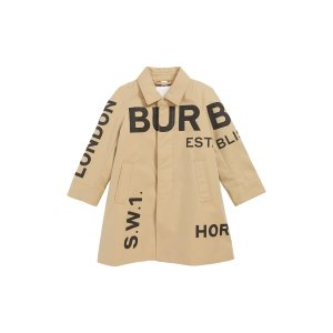Burberry男童风衣