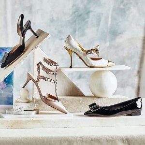 低至8折+新人9折Rue La La 夏日美鞋闪购专场 Gucci拖鞋$278,穆勒鞋$536