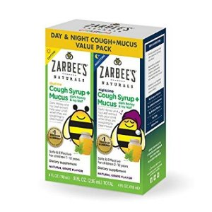 $4.46起 止咳糖浆2个月+宝宝可用史低价:Zarbee's Naturals 婴幼儿止咳糖浆,综合维生素特卖