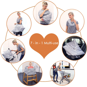 Breastfeeding Nursing Cover Carseat Canopy