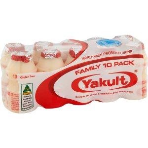 Yakult红瓶 经典版风味乳 10x65ml