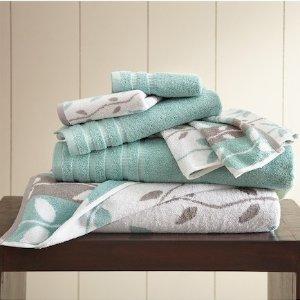 低至1.6折+包邮Hautelook 精选Amrapur 毛巾、浴室地垫等热卖