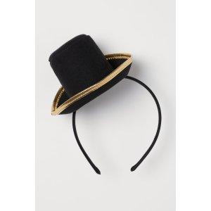 H&M小礼帽头饰