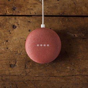 $39.99(原价$69.99)Google Nest Mini 2nd智能语音音响热促 快来一起薅羊毛