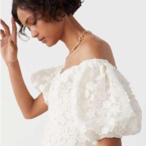 3折起+新人9折 £11收上衣& Other Stories 奶油白色系美衣 谁穿谁温柔 叠穿出奇迹