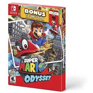 $49.94 (原价$59.99)《马里奥 奥德赛:入门套装》Nintendo Switch 实体版