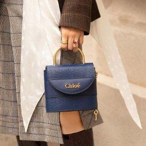 变相5.8折起+再8.5折包关税Chloe 定价优势 Faye wallet八哥价$565 粉色补货