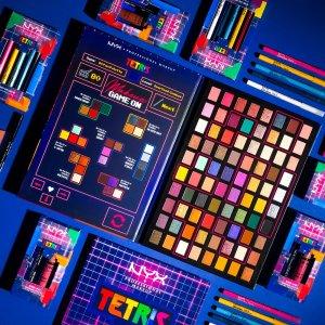 已发售 售价$8起美妆速递:回到80年代 NYX x Tetris 联名美妆 带你穿梭美好时光