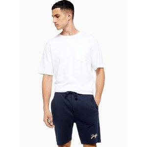 TopmanJACK & JONES 海军蓝短裤