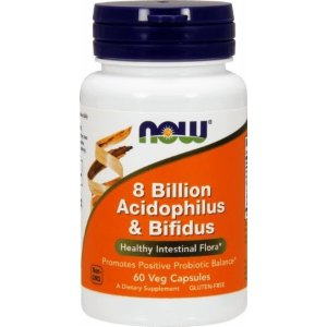 NOW 8 Billion Acidophilus & Bifidus 120