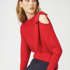 低至2.8折 喜气洋洋大红色Club Monaco精选红色衣服配饰热卖 穿上新衣准备过年啦