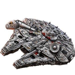 $480(原价799.95)黑五预告:LEGO 星战系列 终极收藏版新千年隼75192,2019黑五预告