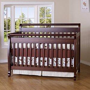 Davinci Emily 4 In 1 Convertible Crib In Espresso Finish Dealmoon