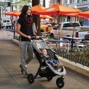 $215.99(原价$359.99)史低价:Baby Jogger 2016 City Mini GT单手秒收避震全地形婴儿推车