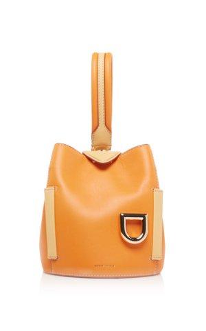 Exclusive Two-Tone Leather Josh Bucket Bag by Danse | Moda Operandi