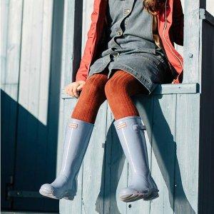低至5折 显瘦长款$73起Hunter 雨天凹造型必备长款雨靴  晴天也可以穿出门