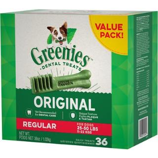 最高立减$10.68 + 订阅9.5折Greenies 狗狗洁牙棒促销热卖
